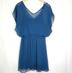 Express mini dress/long top, size Large, women's.